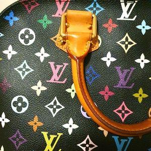 Louis Vuitton multicolour Alma Noir